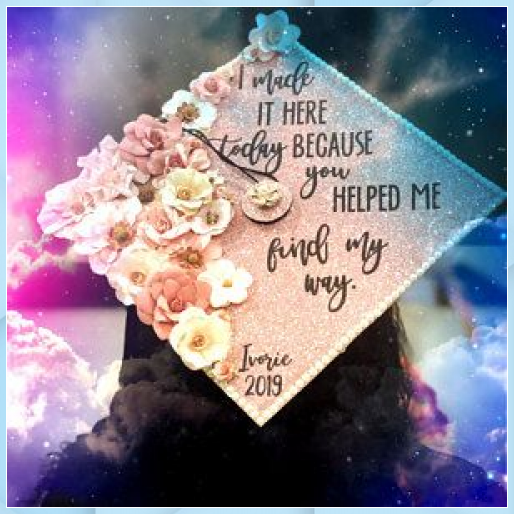 Graduation Cap Topper This Little Light of Mine Graduat - Uncategorized #Cap #earth day #easter #fit...