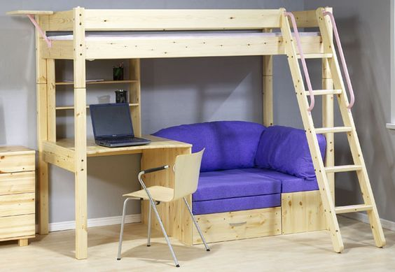 19 Super Functional Bunk Beds With Desk For Small Spaces Kids