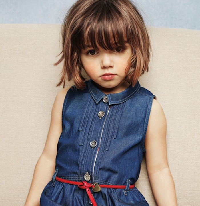 Il Mondo Di Ingrid Burberry Childrenswear Ss14 Collection Girls Short Haircuts Toddler Girl Haircut Little Girl Short Haircuts