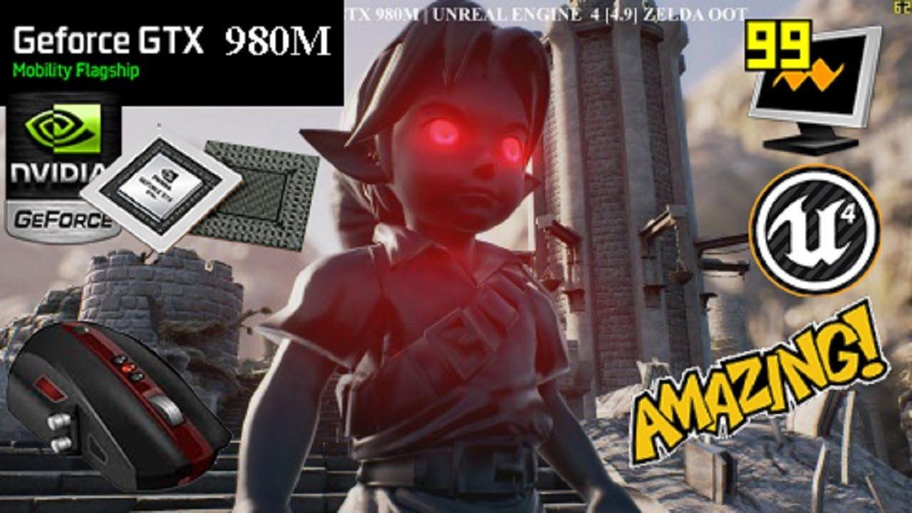 WINDOWS 10 | DX12| UNREAL ENGINE 4 [4 9] Zelda OOT : EVIL