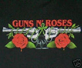 Guns & Roses Crochet Pattern