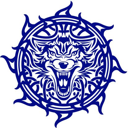 Nordic Wolf Celtic Wolf Tattoo Celtic Tattoos For Men Celtic Symbols
