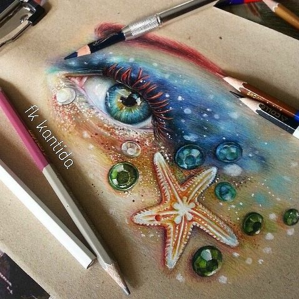 Awesome colored pencil works by thailand artist froy kantida more