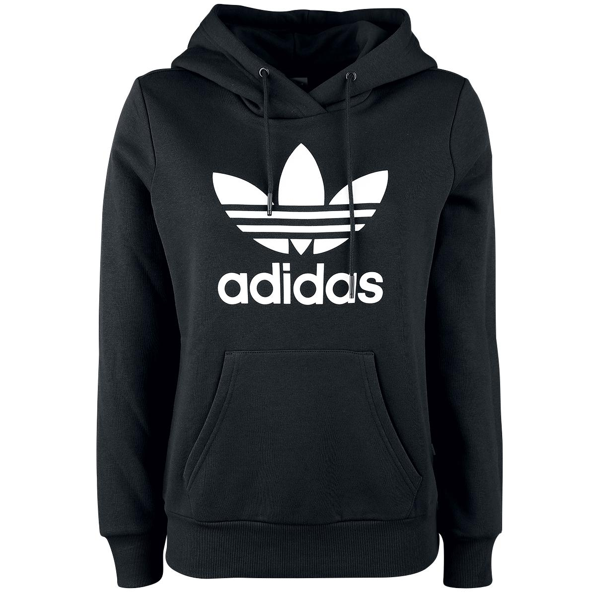 the best attitude 7e9d8 93950 adidas Originals Trefoil Pull Over Hoodie - Mens - Casual - Clothing - Black  White   Style Guide.   Adidas hoodie mens, Adidas sweatshirt mens, Adidas  ...