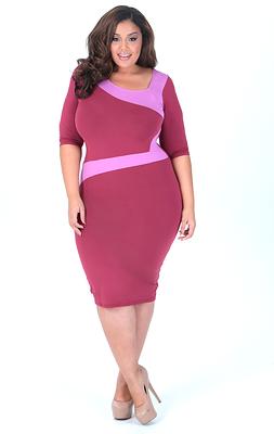 Plus Size Model Allison McGevna Launches Full Figured Clothing ...
