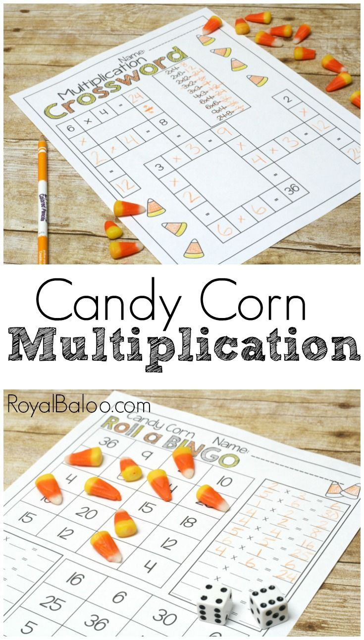 No Prep Candy Corn Multiplication Pack Royal Baloo Multiplication Activities Halloween Multiplication Activities Math For Kids [ 1290 x 735 Pixel ]