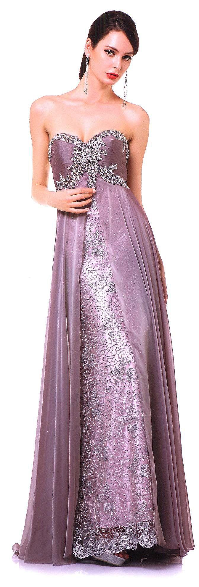 Prom dresses evening dressesucbrueucbruestrapless sweetheart bead