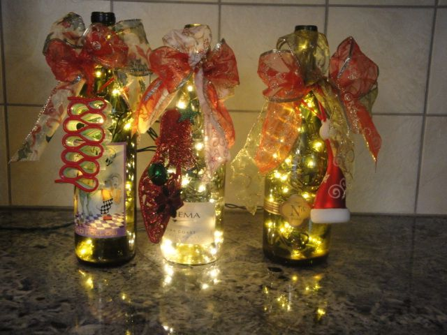 December girls all lit up