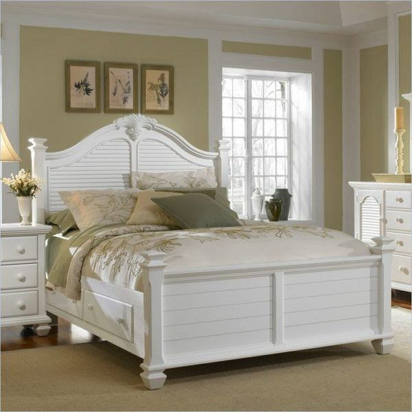 broyhill bedroom furniture white of wooden queen bed frame with ...