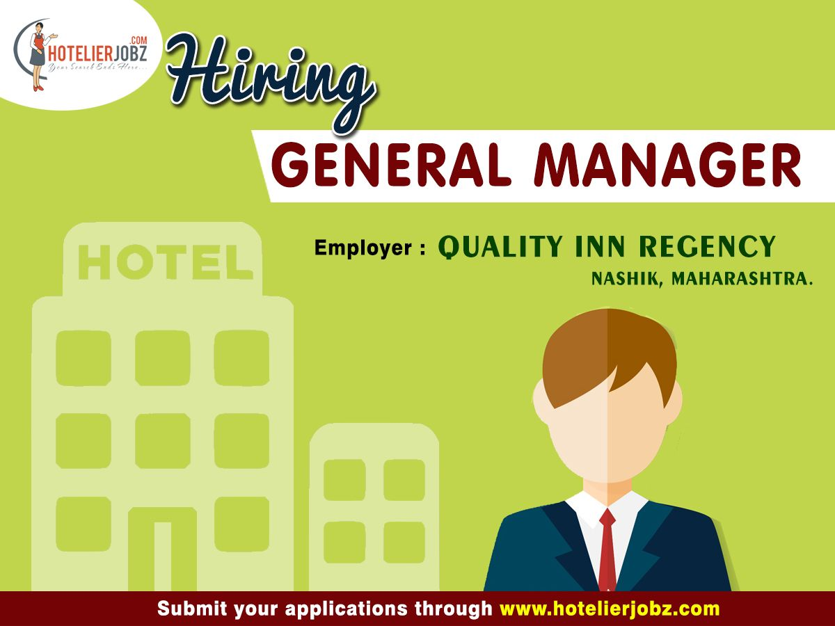 Superb opportunity for Managerial Candidates Quality Inn
