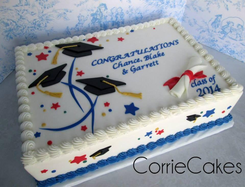 Cake Decorating Ideas For Graduation : graduation cake Corriecakes Pinterest Cake ...