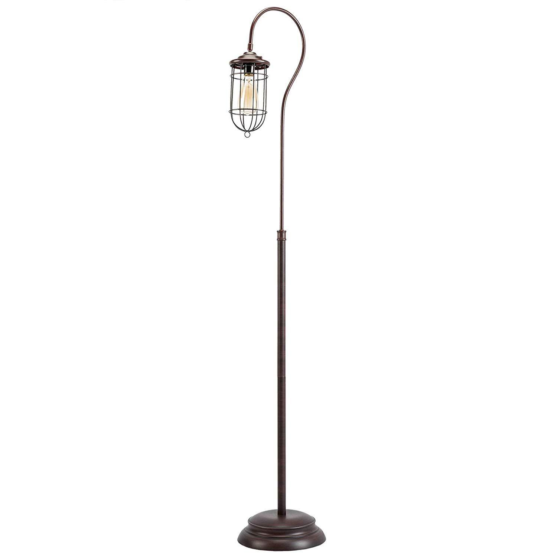Edison Bulb Industrial Floor Lamp