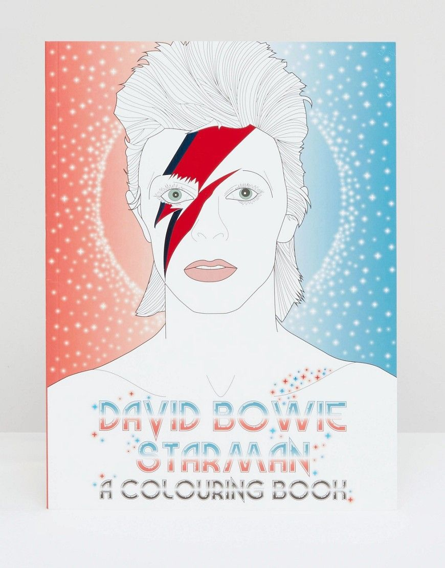David Bowie Coloring Book Want Books Bowie Coloring Books