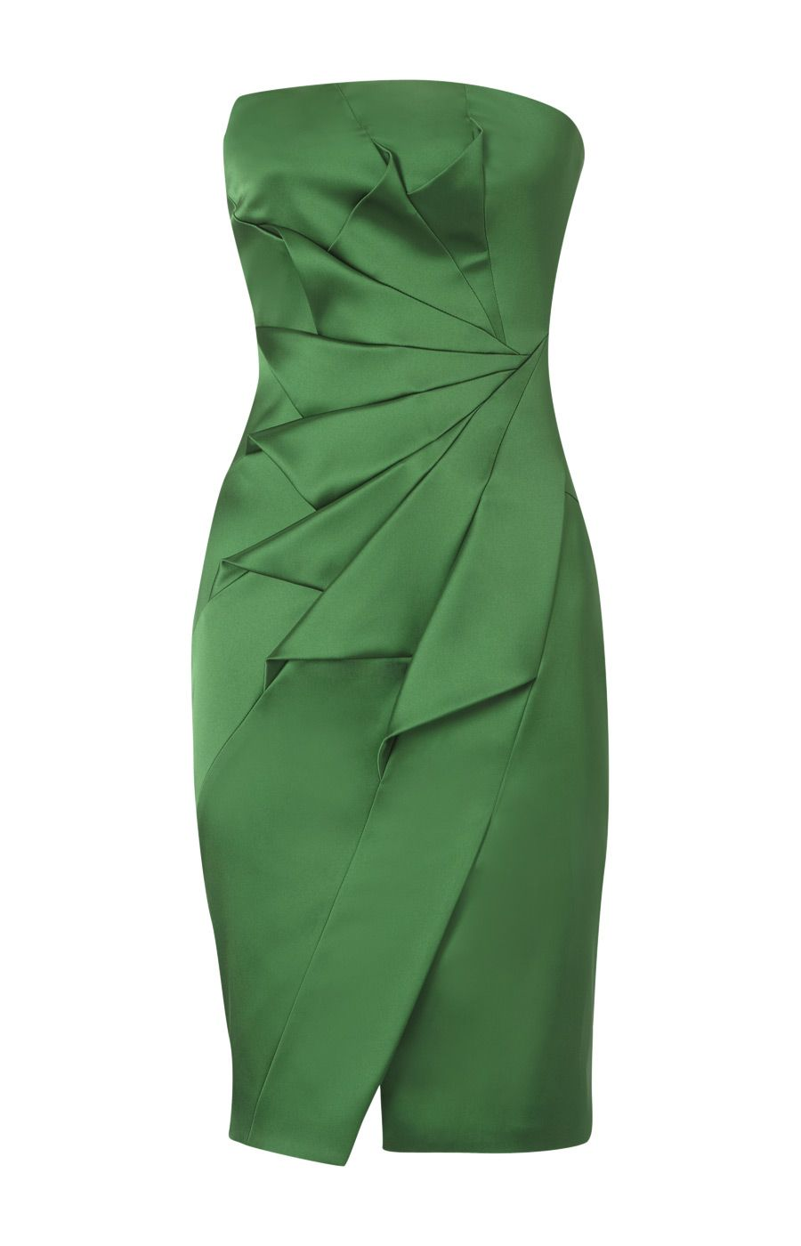 Photo of EMERALD GREEN KAREN MILLEN PARTY OCCASIONAL DRESS SIZE 14 BN…