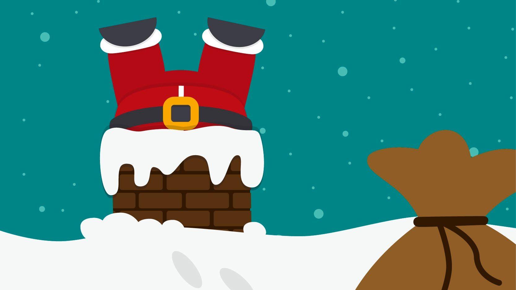 Up On The Housetop - Lyrics (Karaoke - Instrumental) Christmas Songs fo...   Childrens christmas ...