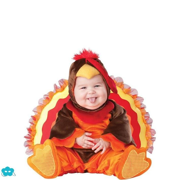 Disfraz de pavo para bebé Fiestas Pinterest Disfraz de pavo