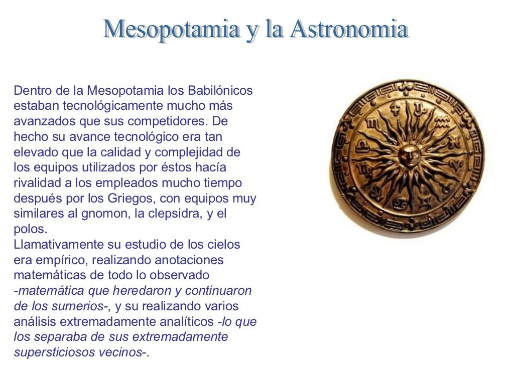 civilizaciones-antiguas-y-la-astronomia by Astros via Slideshare