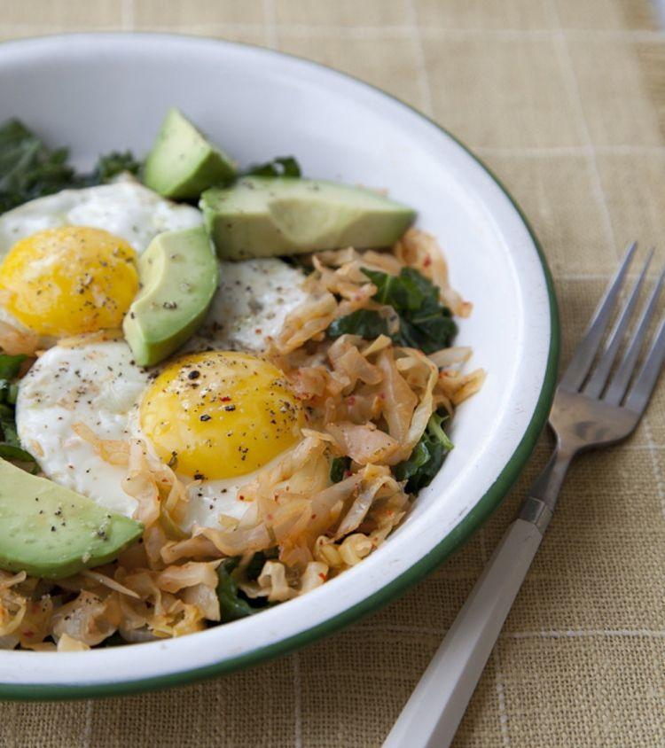Green Kitchen Kimchi: Kimchi, Protein Breakfast And Fermented Foods