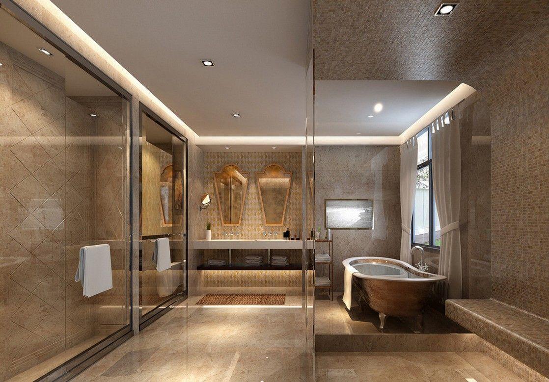 modern bathroom ceiling - techieblogie