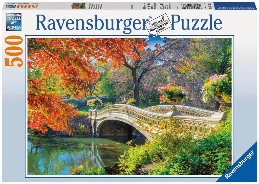 Romantic Bridge - 500 Piece Jigsaw Puzzle