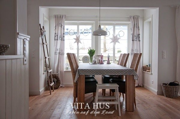 Esszimmer, Wohnzimmer, Gestaltung, Möbel Vita Hus Pinterest - skandinavisch wohnen wohnzimmer