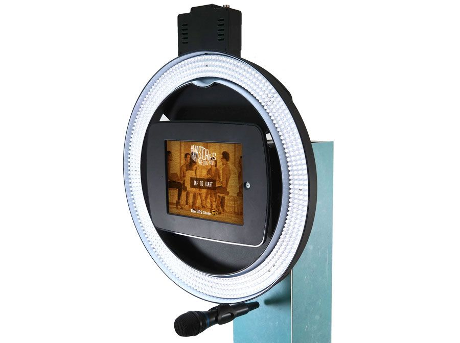 A Video Testimonial Kiosk Custom Application That Captured Testimonials