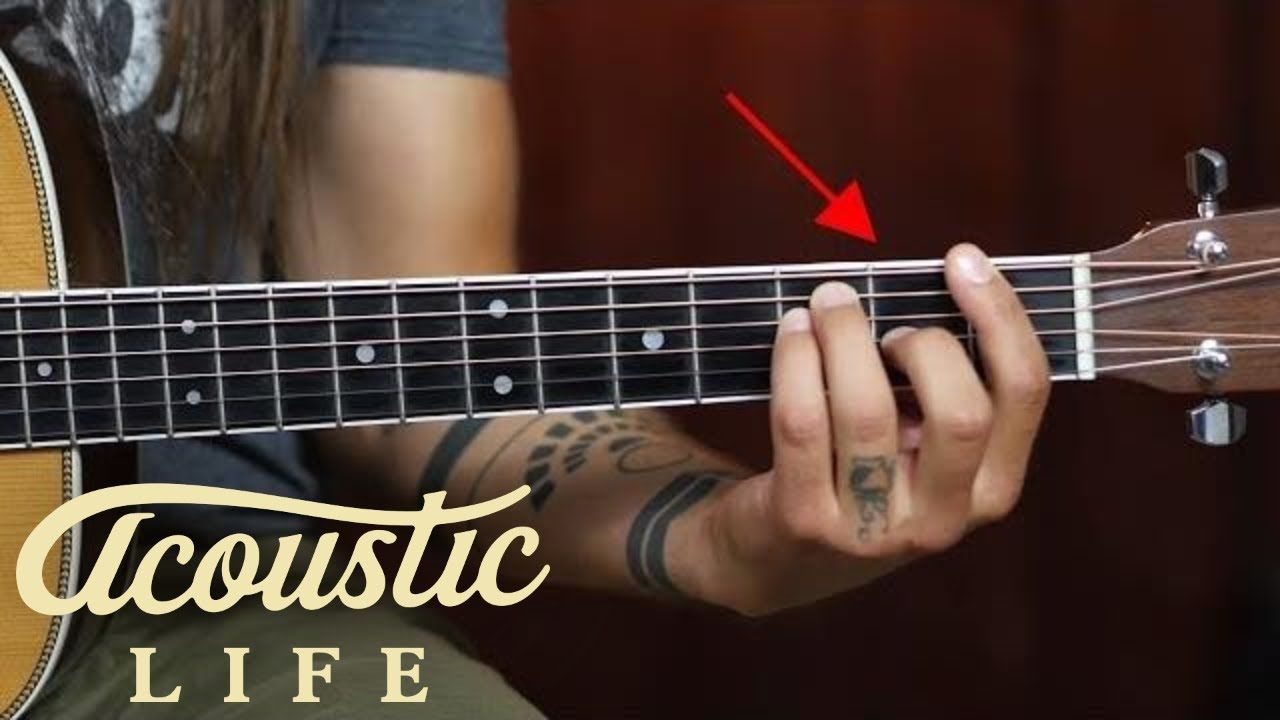 how to play b barre chord on guitar