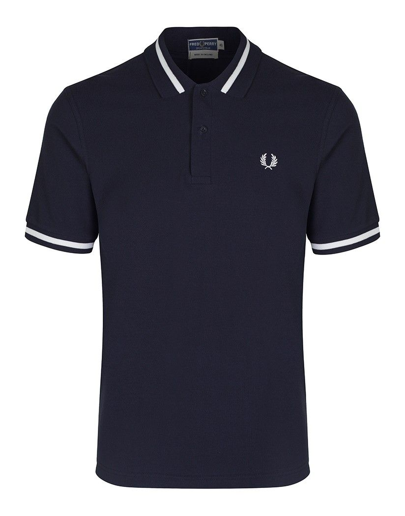 19ddc6cd Fred Perry Men's Reissues Single Tipped Polo Shirt - Navy - Men's Polo  Shirts / T-Shirts - Men's Designer Shirts / Tops - Men | Country Attire