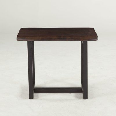 World Interiors Glenwood Acacia End Table