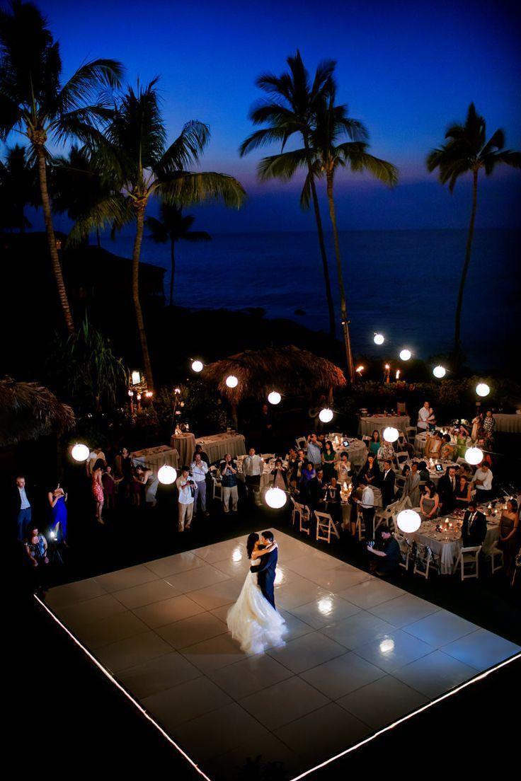 Four Seasons Maui Wedding Photos Wedding reception