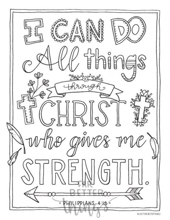 Bible Verse Coloring Page Philippians 4 13 Printable Etsy In 2021 Bible Verse Coloring Page Bible Coloring Pages Bible Verse Coloring