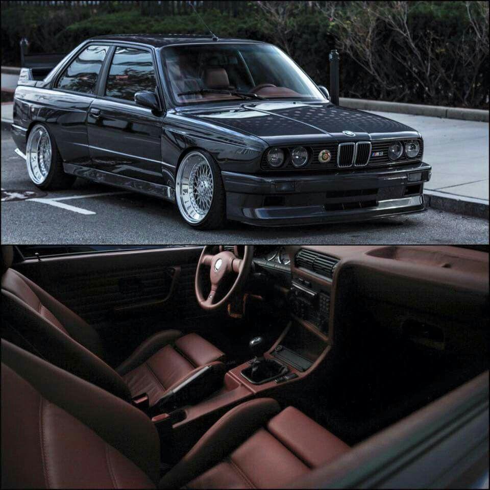 E30 M3 Reupholstered Interior Bmw E30 Bmw E30 Coupe Bmw 318
