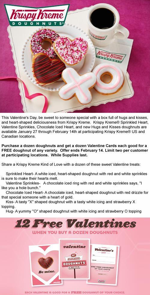 Krispy Kreme Deal! Krispy kreme, Krispy kreme coupons