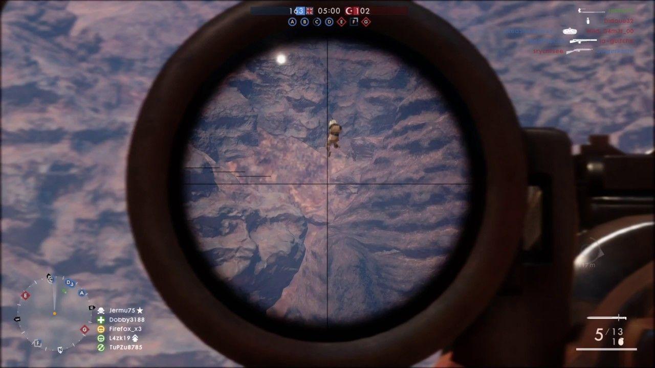 Only in Battlefield 1