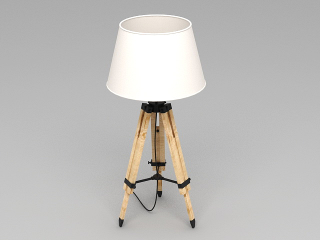 Antique Tripod Lamp 3d Model 3ds Max Files Free Download Modeling 45686 On Cadnav Tripod Lamp Tripod Floor Lamps Lamp