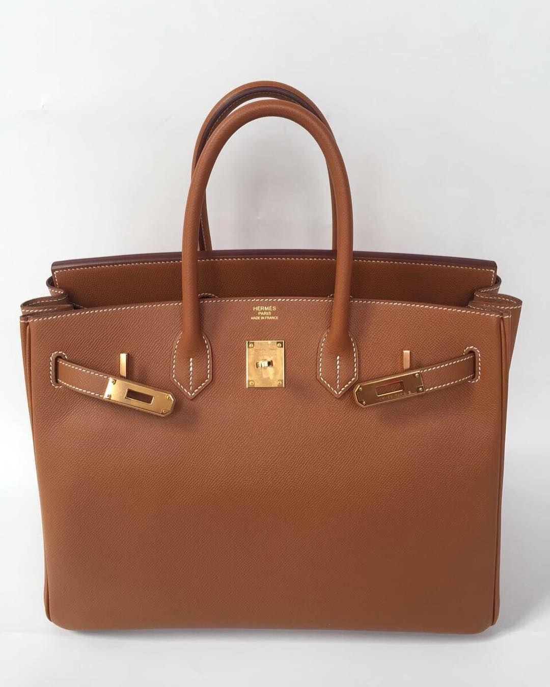 d69456372b Hermes Birkin 35 Gold Epsom Ghw A | HANDBAGS | Hermes bags, Bags ...