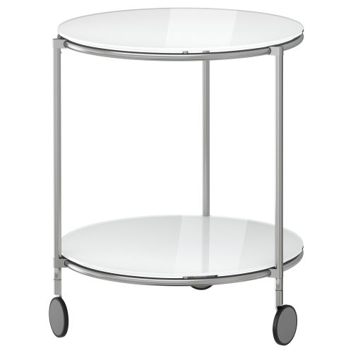 Ikea Strind Side Table Round Coffee Living Room Seating