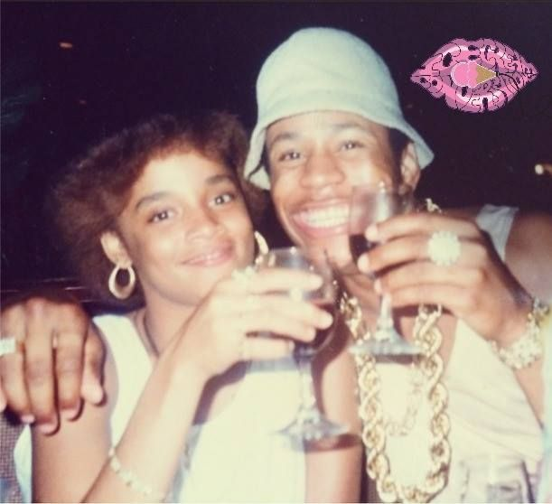 LL and His wife Simone.. 19 yrs together.. Love his smile.,