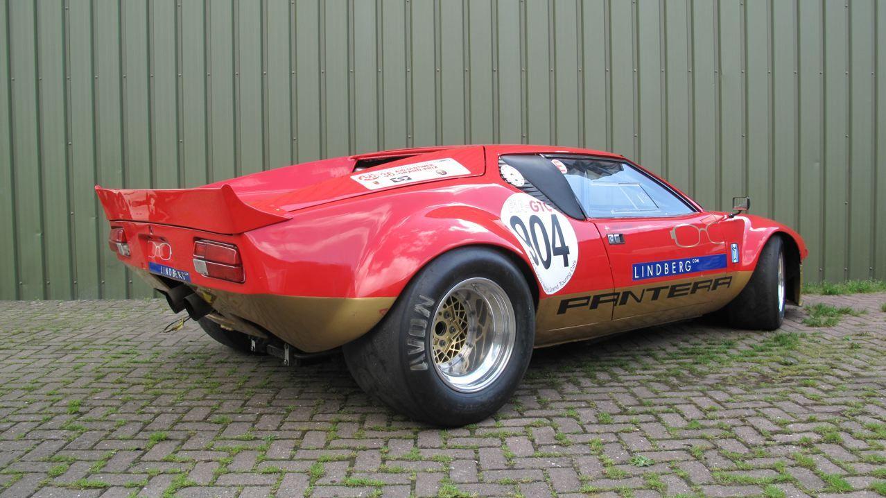 1971 De Tomaso Pantera Group 4 FIA Race Car Hot rods