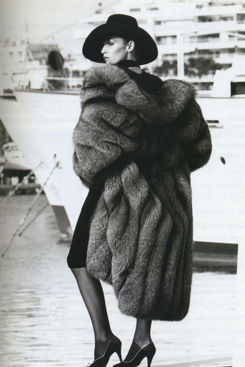 Bellissima Fashion, Jerry hall, Fabulous furs