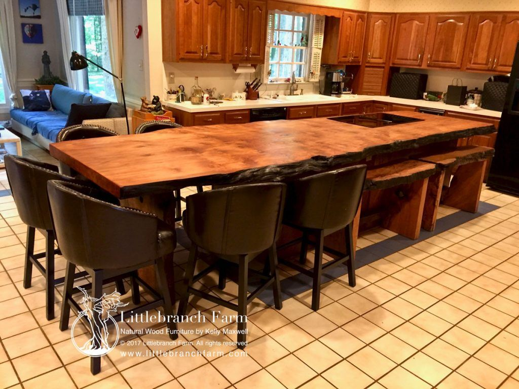 Natural Wood Countertops Live Edge Wood Slabs Littlebranch Farm Wood Countertops Kitchen Countertops Wood Countertops