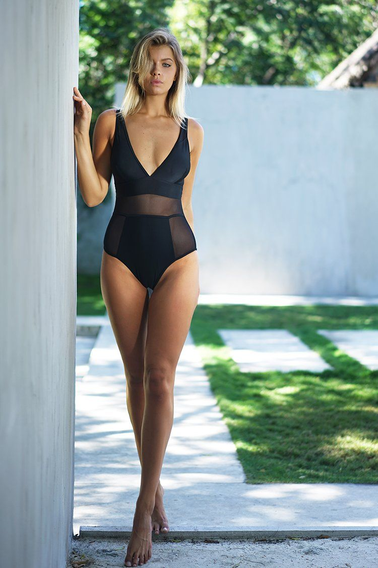 e67e22cde Cupshe Sexy Lady Mesh One-piece Swimsuit