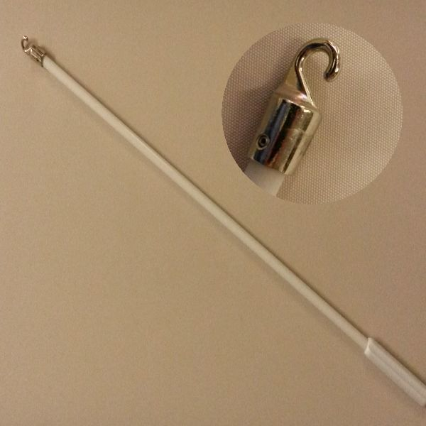 Vertical Blind Deluxe Replacement Strong Control Wand With A Metal