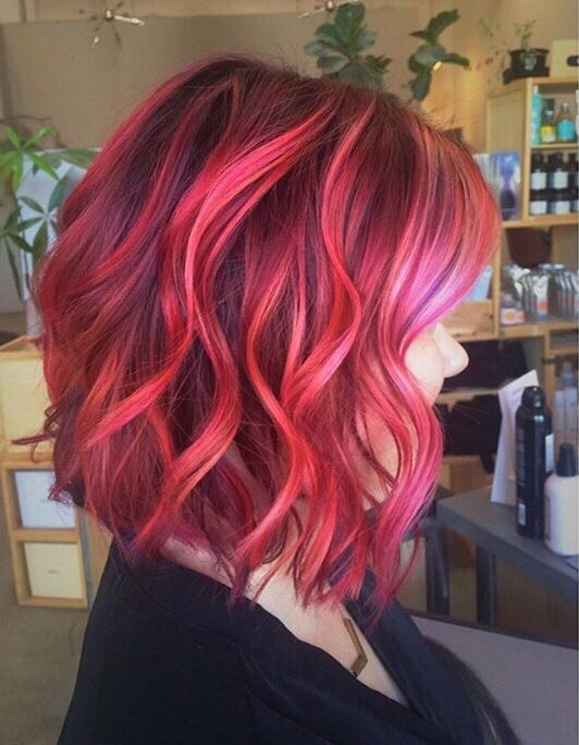 22++ Sunset hair color for short hair inspirations