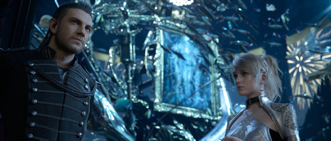 Princess Lunafreya And Nyx Ulric Kingsglaive Final Fantasy Xv