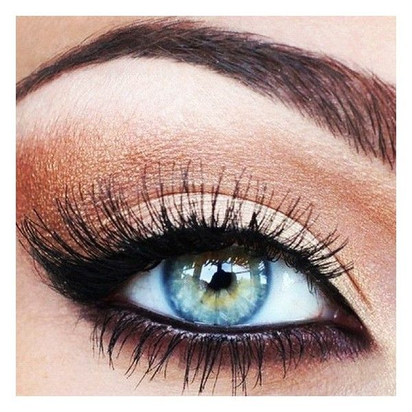 My Style: Hair, Nails & Makeup, all things fabulous and fashionable! ;) / Copper black eye makeup found on Polyvore
