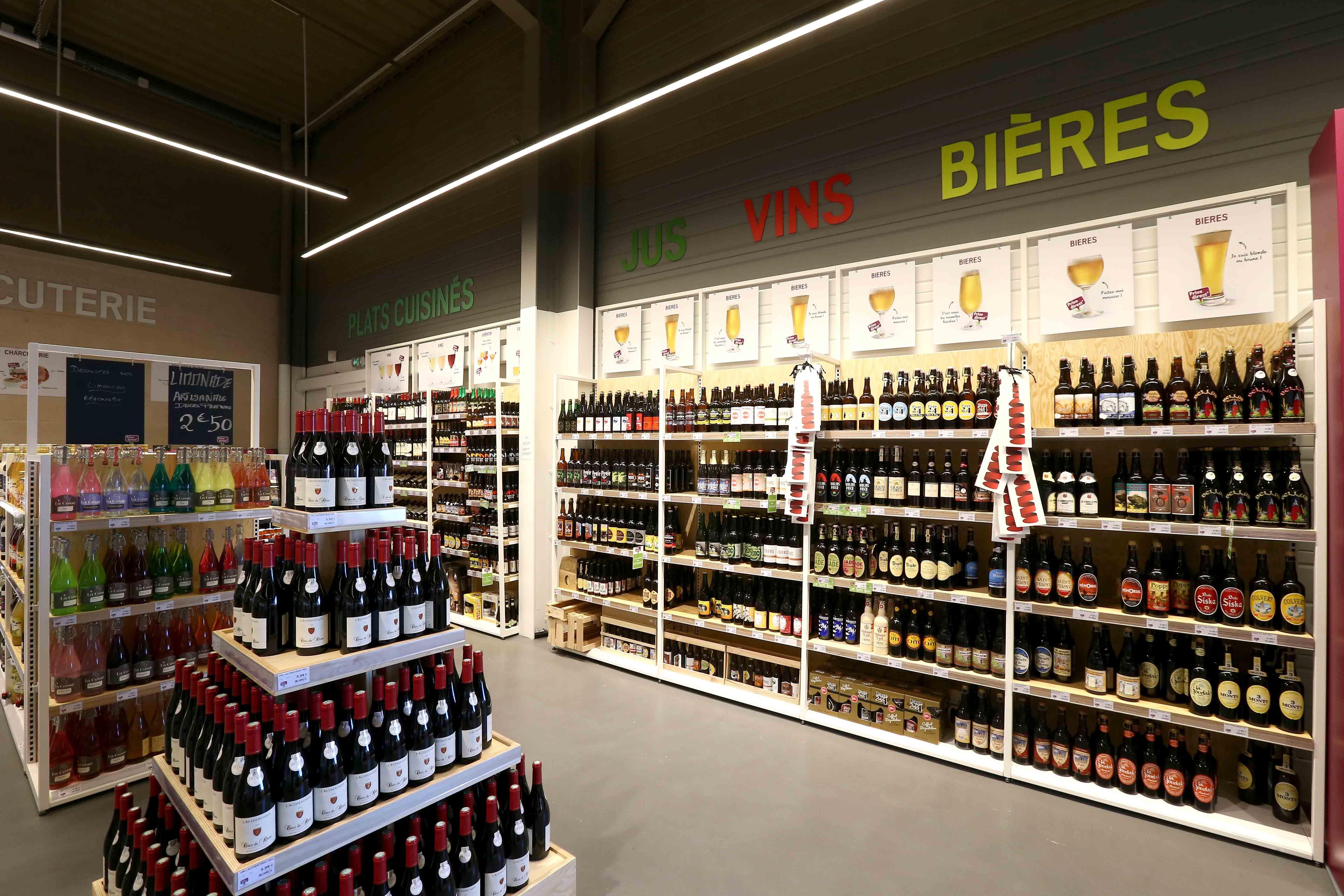 Agencement Magasin Bio Mobilier Specifique Vins Et Bieres Vin Et Biere Agencement Magasin Magasin Bio