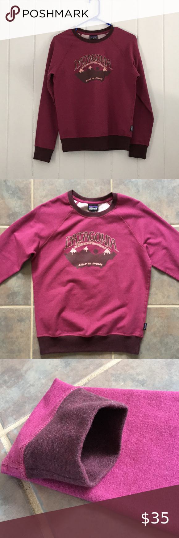 Patagonia Hazy Peaks Midweight Crew Sweater Clothes Design Crew Sweaters Sweaters [ 1740 x 580 Pixel ]