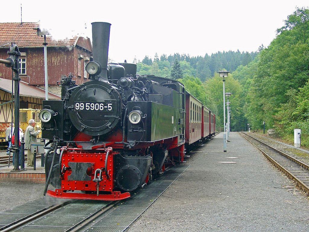 Dampflok durch den Harz