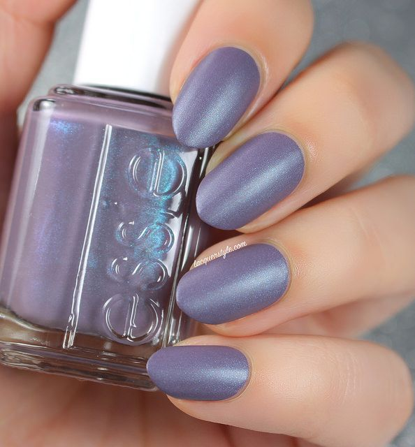 This purple matte nail is weekend perfection. | Mani Mood Board ...
